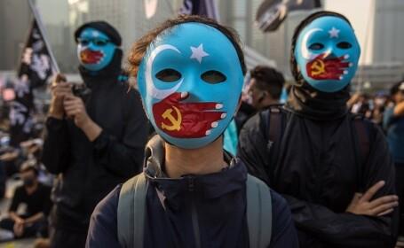 Violențe în Hong Kong, după o manifestaţie în sprijinul uigurilor din China