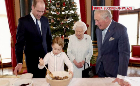 Familia Regală a Marii Britanii se pregătește de Crăciun. Au preparat tradiționala budincă