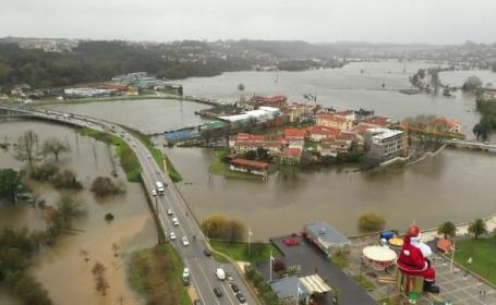 Furtuni violente mătură Europa, iar inundațiile fac ravagii. Cel puțin nouă persoane au murit