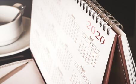 Zile libere. Care sunt principalele minivacanțe din 2020