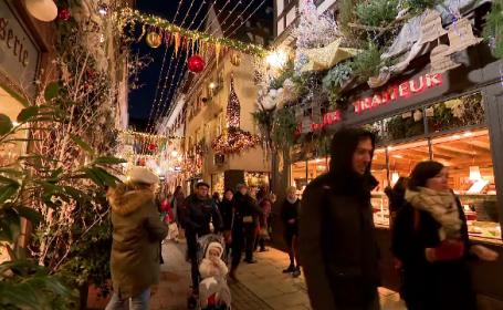 Târgul de Crăciun de la Strasbourg aduce autorităților de 50 de ori mai mulți bani decât investesc