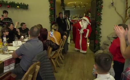 Moș Crăciun a vizitat copii din toată țara. Cum au așteptat micuții cadourile