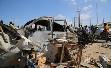 Atac terorist sângeros în Somalia - 1
