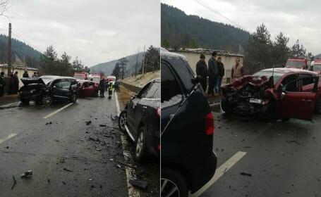 O tânără și un copil de 5 ani au murit într-un accident grav, în Bacău