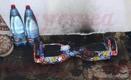 Cadoul de Crăciun primit de un copil de 10 ani din Bârlad a explodat în apartament. VIDEO