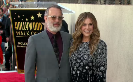 Tom Hanks și soția