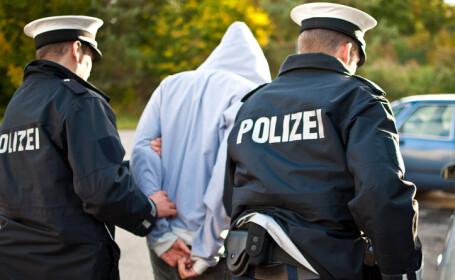 barbat arestat de politia germana