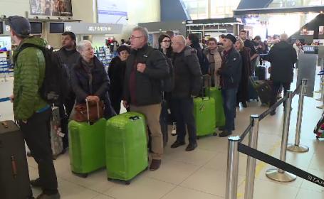 Aglomeraţie pe aeroporturi, înainte de Revelion