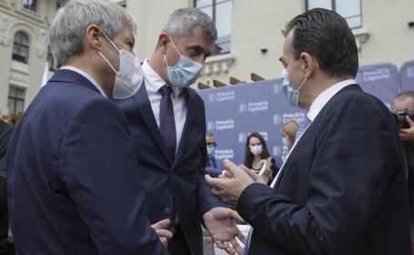 Dacian Ciolos, Dan Barna, Ludovic Orban