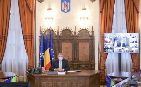 """Klaus Iohannis convoacă Consiliul Suprem de Apărare a Ţării: """"Situația este îngrijorătoare"""""""