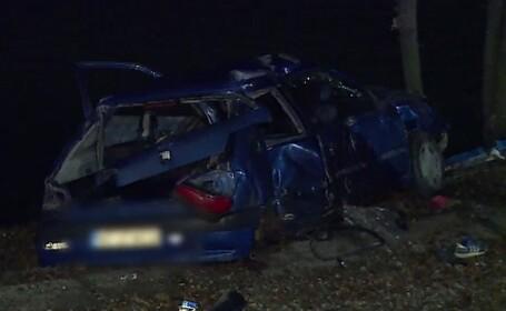 Accident teribil provocat de un tânăr fără permis în orașul Pantelimon. Scafandrii, chemați să caute o victimă inexistentă