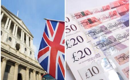 Bancnote în valoare de 55 miliarde de lire sterline,