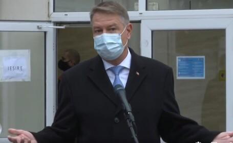 Klaus Iohannis a votat la alegeri parlamentare: \