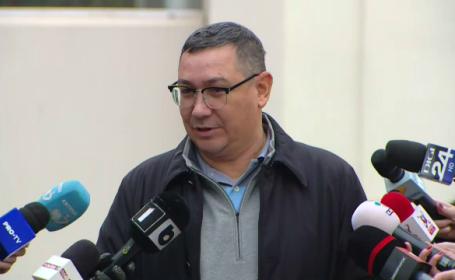 Victor Ponta a refuzat să poarte mască în timpul declarațiilor de la ieșirea de la urne. VIDEO