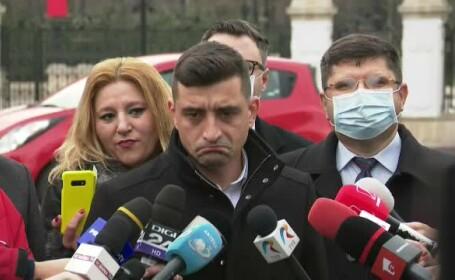 """De ce au întârziat liderii AUR la consultările cu Iohannis. """"Ne-am plimbat"""""""