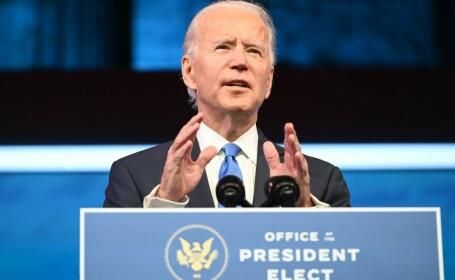 Mesajul lui Biden, după ce a fost confirmat de Colegiul Electoral ca preşedinte al SUA