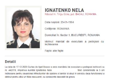 Mesajul postat de o condamnată în Dosarul Ferma Băneasa, după ce a fost dată în urmărire