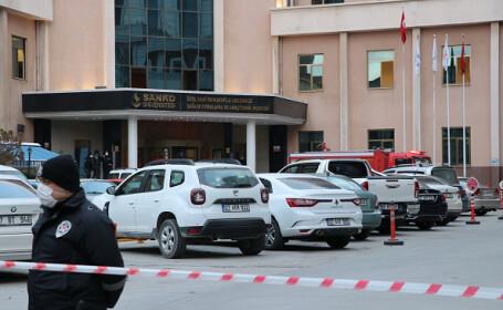 Bilanţul deceselor după incendiul de la o secție de terapie intensivă a unui spital din Turcia a crescut la 10