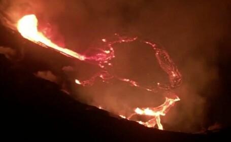 Vulcanul Kilauea a erupt din nou. Este considerat unul din cei mai activi din lume