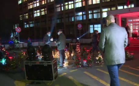 Surpriza de care au avut parte medicii și pacienții de la Spitalul Municipal din Oradea
