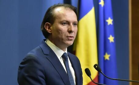 """Cîțu, întrebat dacă vor fi amendați protestatarii fără măști: """"Eu îi înțeleg pe români"""""""