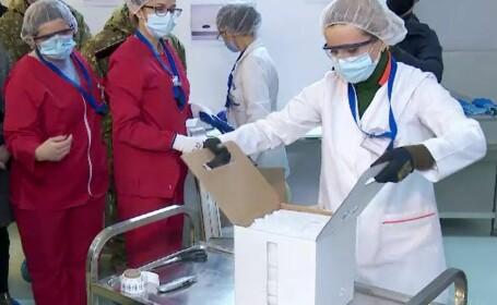 Câte cadre medicale au primit serul anti-COVID în prima zi a campaniei de vaccinare