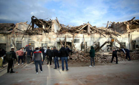 """Croația, lovită de încă două cutremure puternice. """"Pământul se va mai zdruncina mult timp"""""""