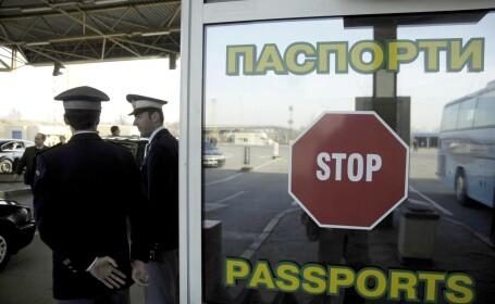 Fermierii bulgari au blocat punctul de frontiera Giurgiu-Ruse