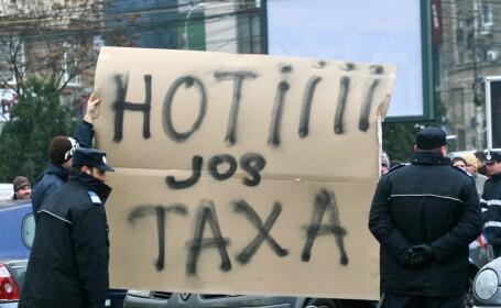 protest taxa auto 3