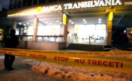 Jaf la Banca Transilvania