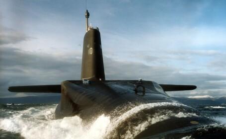Ciocnire intre doua submarine nucleare, in Oceanul Atlantic!
