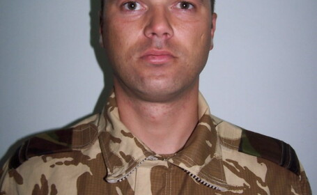 Sergent major Claudiu Chira
