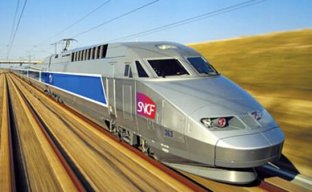 A scapat teafar dupa ce a trecut TGV-ul peste el!