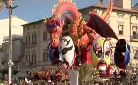 Carnaval, Viareggio, Italia