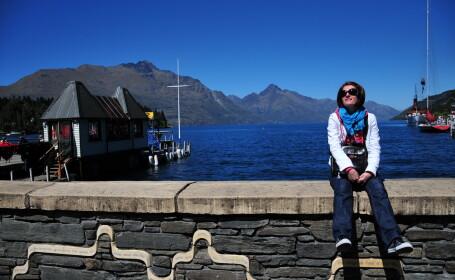 Cristina Jurca si-a petrecut vacanta de iarna tocmai in Noua Zeelanda