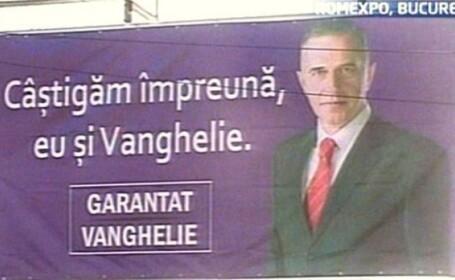 banner panou violet