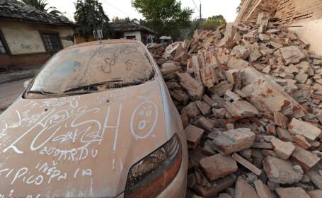 Noi imagini de la cutremurul din Chile! VEZI VIDEO!