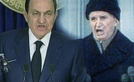 Hosni Mubarak si Nicolae Ceausescu