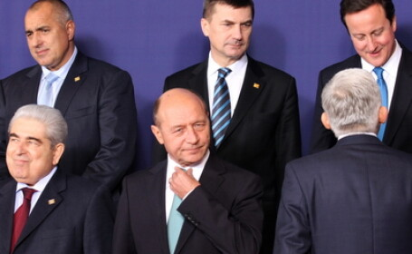 Traian Basescu la Bruxelles