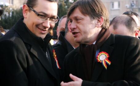 Crin Antonescu si Victor Ponta