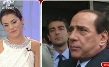 Ioana si Berlusconi