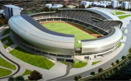 O sa arate ca un OZN!Cluj Arena isi va schimba culoarea in functie de vreme