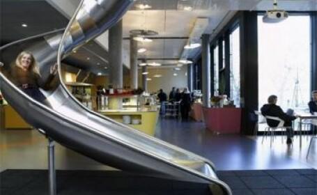 Vezi cum arata birourile gigantilor internetului! GALERIE FOTO