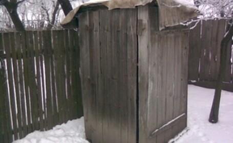 Toaleta din gradina