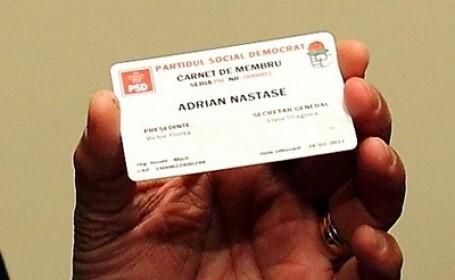 Card de membru PSD