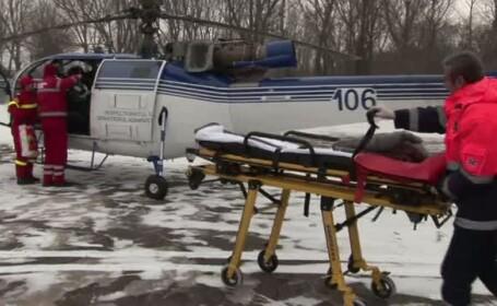 elicopter, SMURD, medici