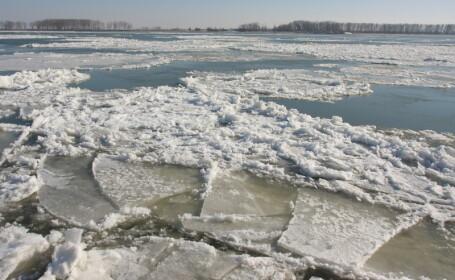 Dunare inghetata