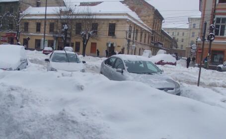 parcare iarna