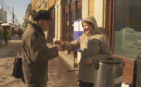 Clujenii sunt ajutati sa faca fata frigului