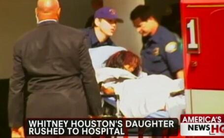 Fiica lui Whitney Houston a adormit in cada aceluiasi hotel cu o zi inainte de tragedie